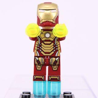 New Ironman Minifigure Building Toys Custom Lego
