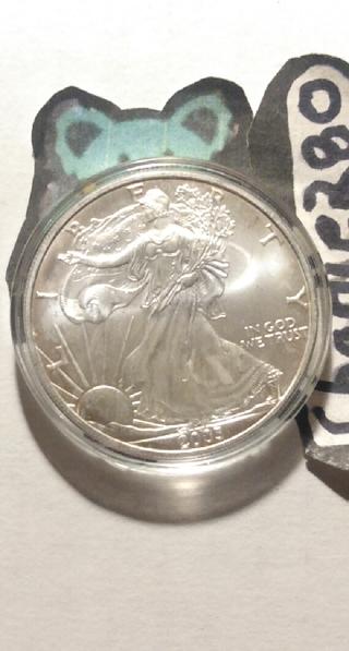 2003 Silver American Eagle (UNC)