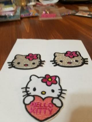 Hello Kitty Iron On Patch
