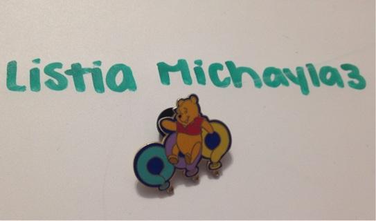 Winnie the Pooh Disney trading pin