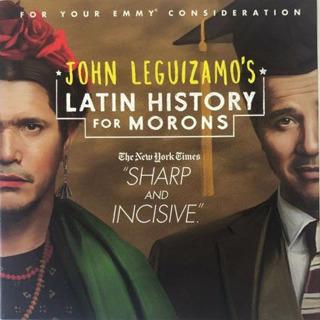 John Leguizamo's Latin History For Morons - 2019 NETFLIX EMMY FYC DVD Comedy FREE SHIPPING
