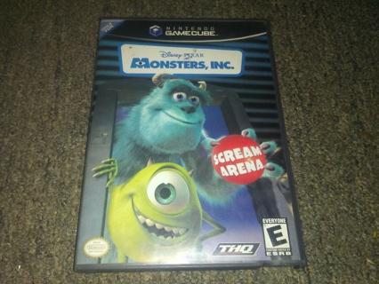 Monsters, Inc. SCREAM ARENA for Nintendo Gamecube