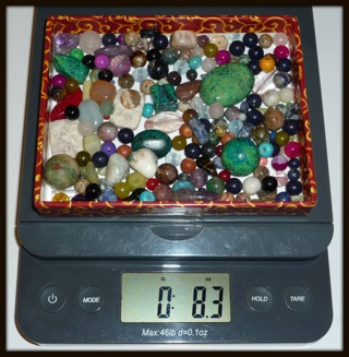 MEGA GEMSTONE BEADS MIXED LOT for Jewelry Making, Arts, Crafts, Decorating, Collecting, FUN! :)