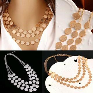 Fashion Women Charm Jewelry Chain Pendant Choker Chunky Statement Bib Necklace