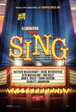 Sing - Digital HD UV VUDU only Movie code