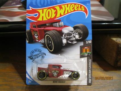 """Hot Wheels """"Bone Shaker"""" Pkg Unopened!"""