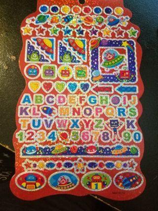 Shiney Robot Stickers # 2