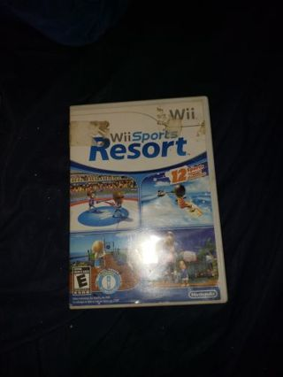 USED WII SPORTS RESORT GAME FOR THE WII