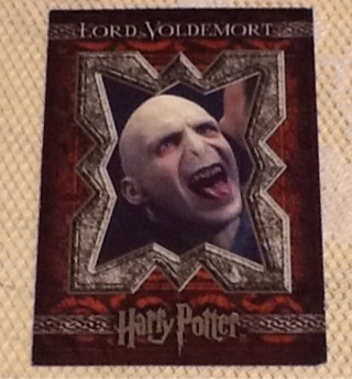 Harry Potter Voldemort Movie Card