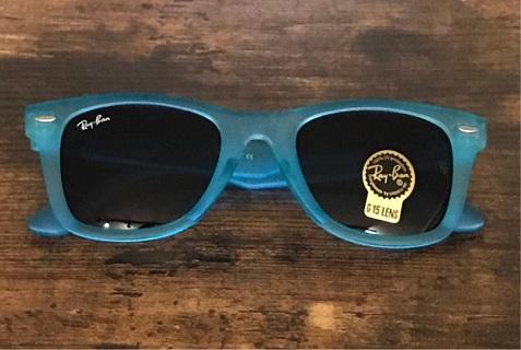 Blue Rayban Wayfarer New Unisex Mens Women's Sunglasses