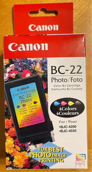Canon BC-22 Color Ink Cartridge