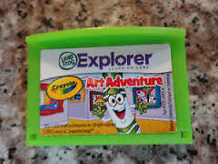 "leap frog explorer ""art adventure"" game"