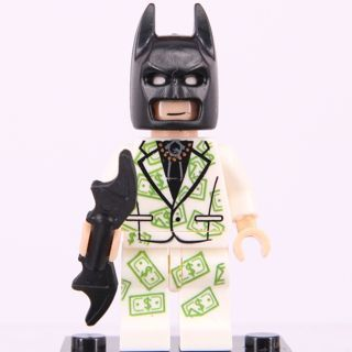 New Batman With US Dollar Suit Minifigure Building Toy Custom Lego