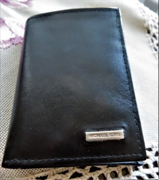 Brand New with Inside Card Michael Kors Men's Tri-Fold Wallet