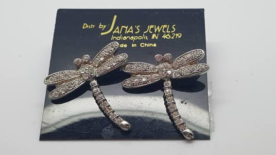 New Jana's jewels Dragonfliy pierced earrings