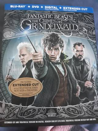 The Crimes of Grindelwald HD CODE ONLY