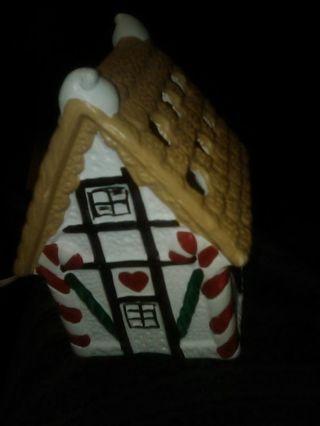 Porcelain Gingerbread House!