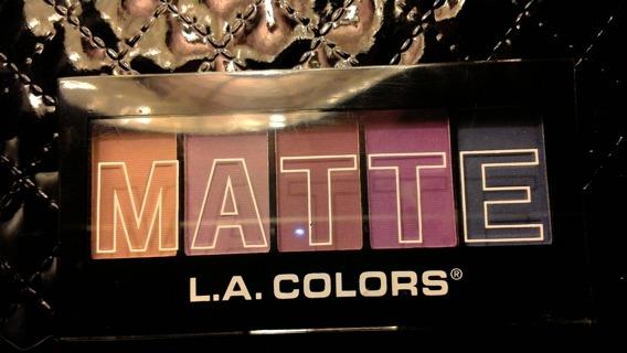 Matte Eyeshadows