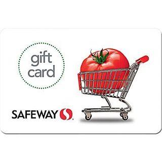 $5 Safeway gift card ~ digitally delivered