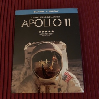 New Sealed Apollo 11 Blu-Ray Movie/DVD