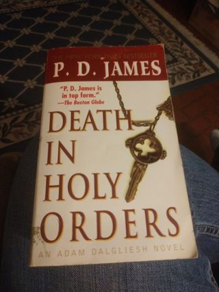 Death In the Holy Orders by P.D. James (paperback)