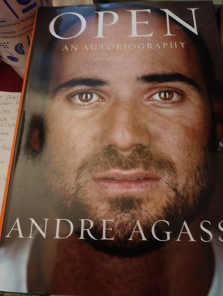 Open an Autobiography Andre Agassi-Hardcover