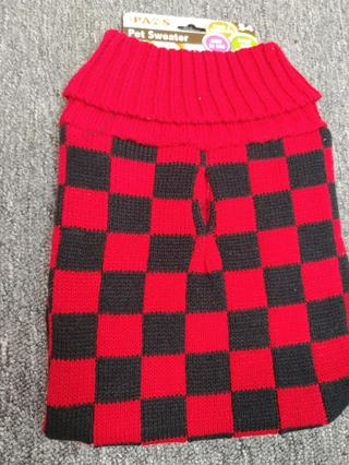Brand New!! Just Paws Pet Sweater--Size M *Trendy and Fashionable *Easy To Use *Keeps Your Pets Warm