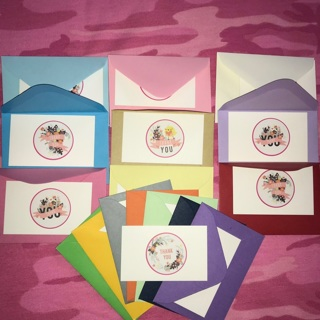 Mini Envelope and Thank You Card