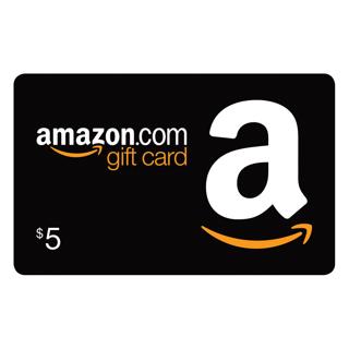 $5 Amazon.com Gift Card