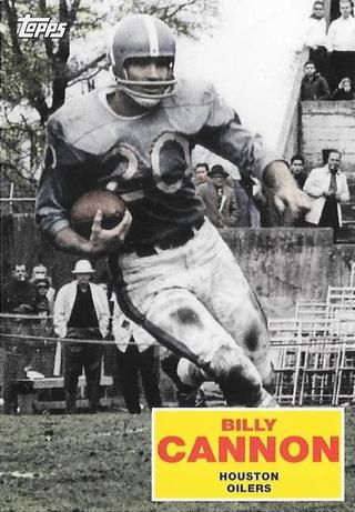 2009 Topps Flashback - Billy Cannon