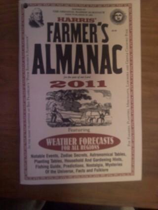 Farmer's Almanac 2011