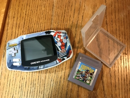 Vintage Rare Nintendo Gameboy Spiderman Advance Console Plus 1 Game