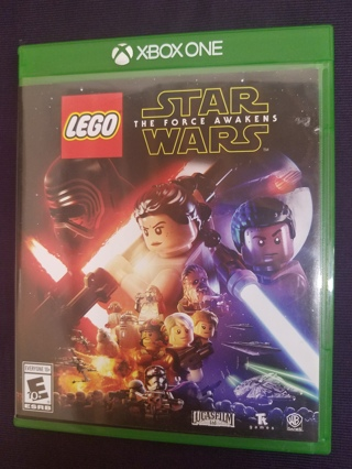 LEGO Star Wars: The Force Awakens video game (Microsoft Xbox One, 2016)