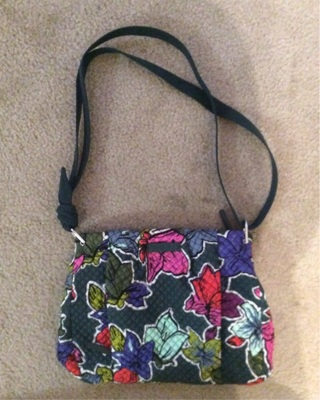 Vera Bradley Crossbody Purse. Only used once.