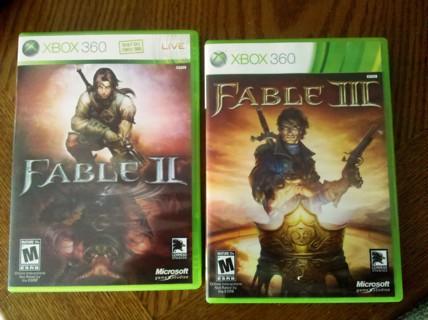 Fable II & Fable III - Xbox 360