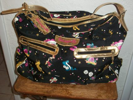 Free Rare Xl 20 W Betsey Johnson Betseyville Travel Bag