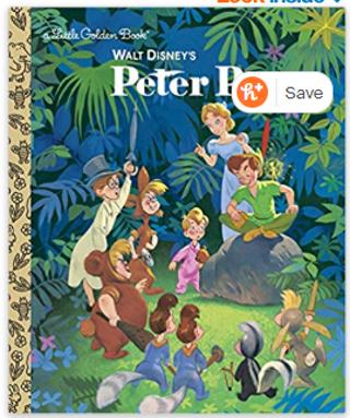 Walt Disney's Peter Pan (Disney Classic) (Little Golden Book) Hardcover