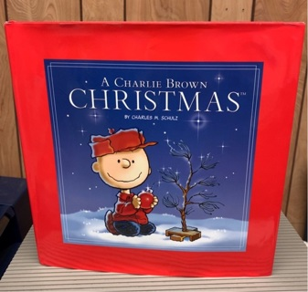 A Charlie Brown Christmas by Charles M Schulz hardcover book