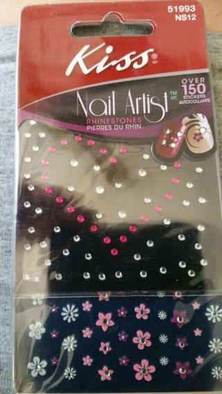 Kiss nail stickers rhinestone