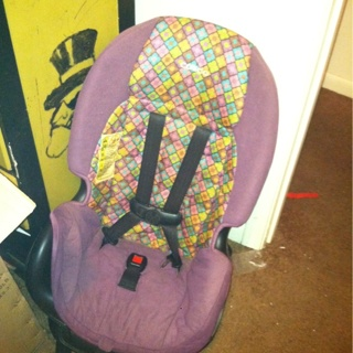 Free: Cosco Purple Convertible Car Seat - Other Baby Items - Listia ...
