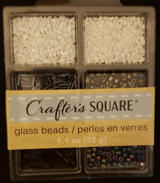 NEW - Crafter's Square - Glass Beads
