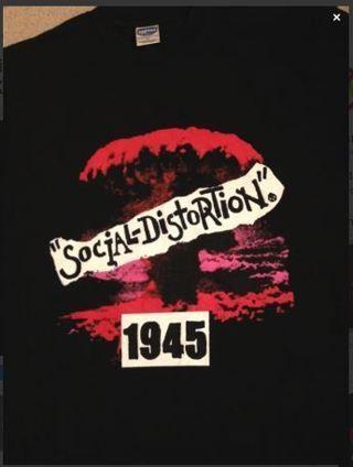 NEW Social Distortion Shirt Band Tee FREE SHIPPING