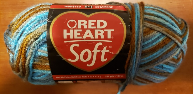 "NEW - Red Heart Soft Yarn - ""Waterscape"""