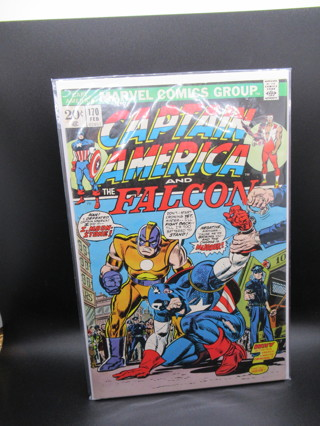 CAPTAIN AMERICA AND THE FALCON #170