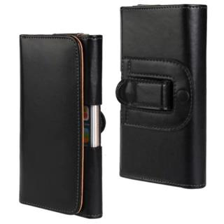 Mens PU Leather Belt Clip Phone Case Cover Waist Bag Holster For iPhone 8 7 6 P1