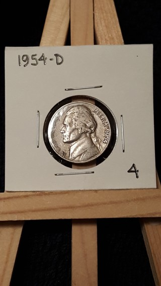 Free: 1954-D Jefferson Nickel - Coins - Listia com Auctions