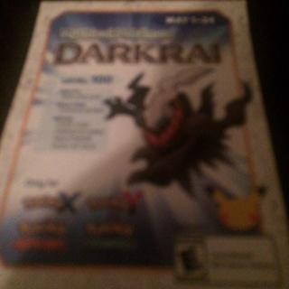 Darkrai for Pokemon X, Y, Alpha sapphire, and Omega Ruby
