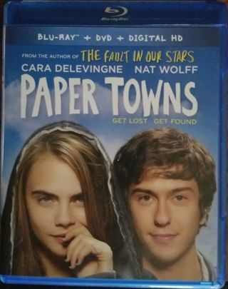 Paper Towns (2015) Digital HD Code NEW! NEVER USED! Cara Delevingne Nat Wolff