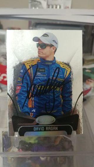 NASCAR David Ragan autographed card #38