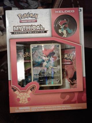 Pokemon TCG: Mythical Pokemon Collection - Keldeo Factory Sealed